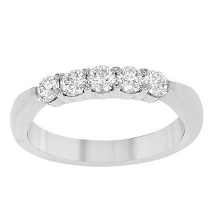Hearts on Fire Hearts Of Fire 5stb00508w 18k White Gold 0.5 Cttw Ladies Wedding Band