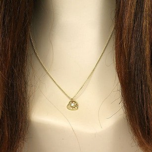 Hearts on Fire Hearts On Fire 18k Yellow Gold Diamonds Heart Pendant-20