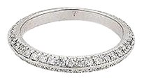 Hearts on Fire Hearts On Fire Felicity Knife Edge 18k White Gold Eternity Band Ring