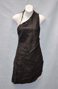 Helmut Lang short dress Black / Ivory on Tradesy