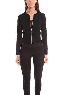 Helmut Lang Lateral Drape Black Jacket