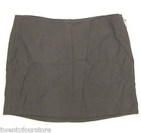 Helmut Lang Mini Wrap Mini Skirt Brown