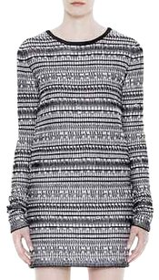 Helmut Lang Black White Dress