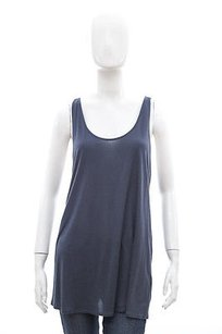 Helmut Lang Scala In Teal Top Blue