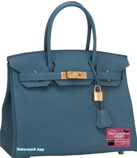 Hermès Blue Amazing Color Sold Out Color Tote in Cobalt