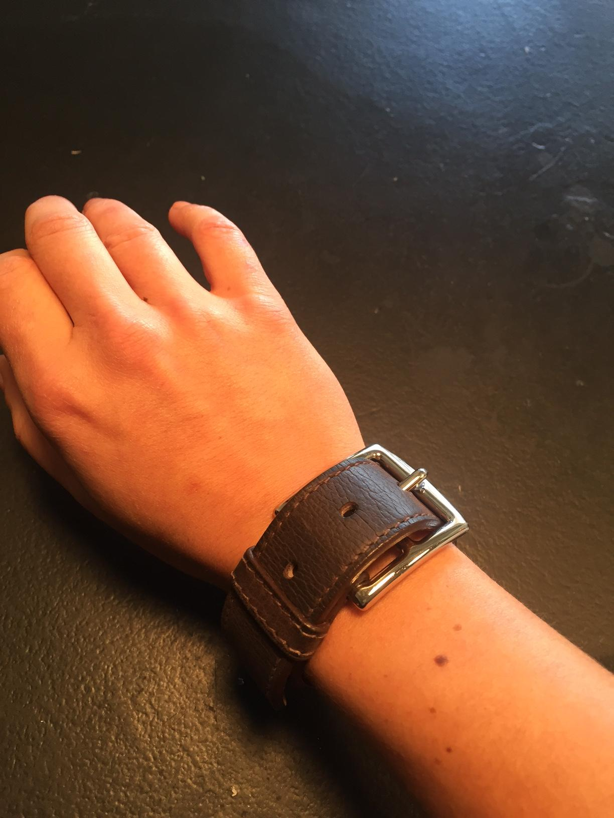 c7a9ee6e86 ... promo code womens hermes couple bracelet on poshmark hermès brown large  etriviere leather bracelet tradesy fe264