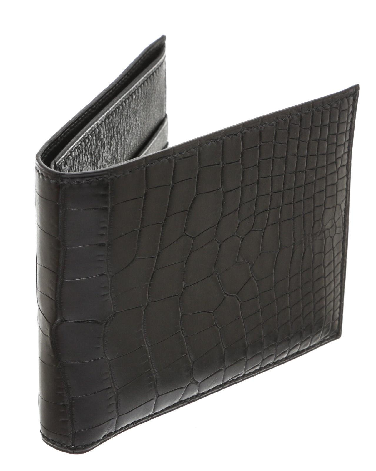 342885a486 ... australia hermès hermes black alligator mens wallet 205826. 1234567  87a50 da035