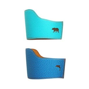 Hermès Hermes Petit H Cupholders Lagoon Turquoise Whimsical One of a Kind