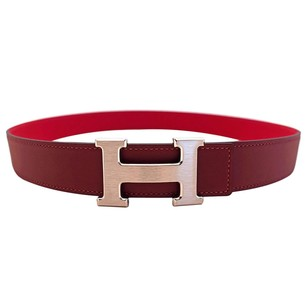 Hermès Hermes Rouge Casaque Lipstick Red Rouge H Constance Belt Kit 85cm 32mm Pretty