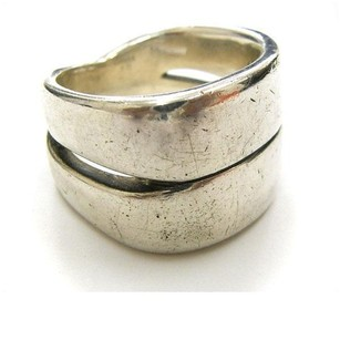 Herms Hermes Silver Ring