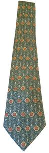 Hermès Hermes Sunflower Silk Tie 7672 TA SILK NECK TIE in mint condition