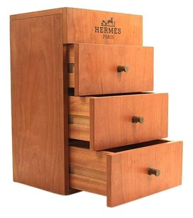 Hermès Hermes Wooden Perfume Case Display Rare