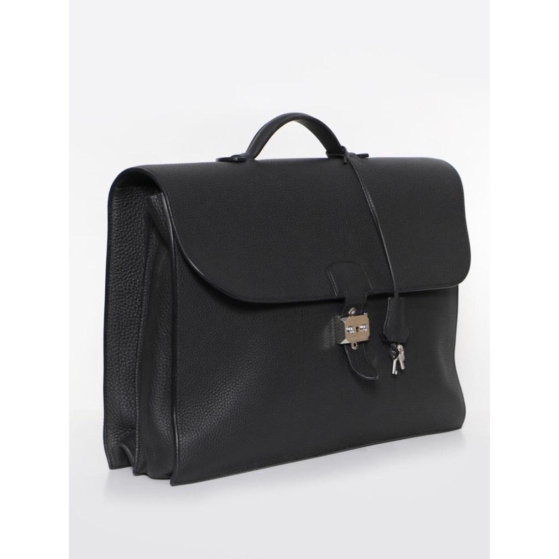 e971be72f113 ... hermes sac à dépêches briefcase bag reference guide spotted fashion  c724e b6567 sale hermès sac a depeches 41 briefcase grey leather satchel  tradesy ...
