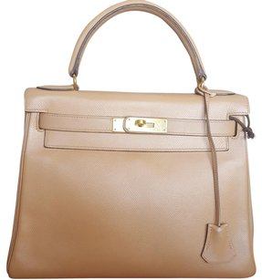 Hermès Satchel in Camel