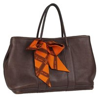 Hermès With Scarf Leathet Shoulder Bag