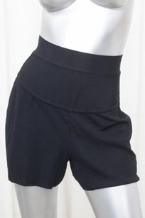 Herv Leger Herve Womens Vintage Shorts Black