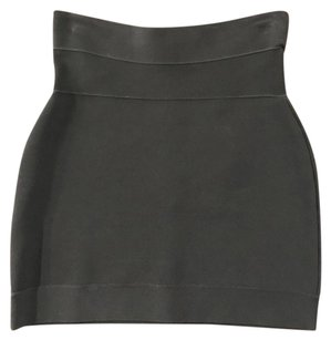Herv Leger Mini Herve Mini Skirt Black