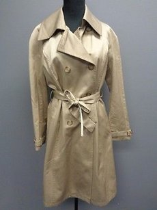 Hilary Radley Blend Double Breasted Trench Sma6938 Trench Coat
