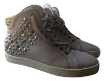 Hogan High-top Studded Urban Suede Grey Athletic