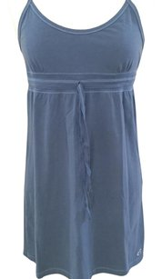 Hollister short dress Blue Cotton on Tradesy