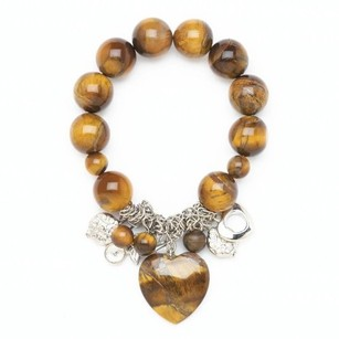 Home Locomotion Tigers Eye Stretch Bracelet