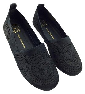 House of Harlow 1960 Black Flats