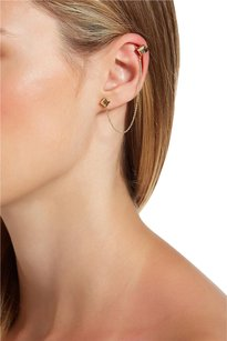 House of Harlow 1960 House of Harlow 1960 Rhinestone Accented Pyramid Ear Cuff & Stud