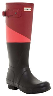 Hunter Black & red Boots
