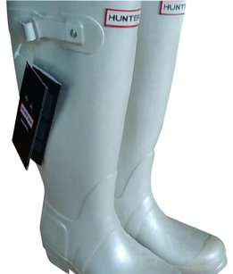 Hunter Nwt White Boots