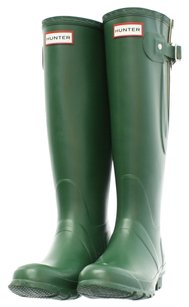 Hunter Rubber Hunter Green Boots