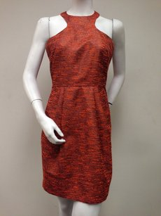 Hunter Dixon Gold Glimmer Sleeveless With Tags Dress