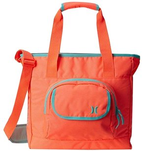 Hurley Nylon Bright Fluorescent Orange Messenger Bag