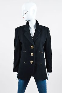 Iceberg Vintage Black Wool Coat