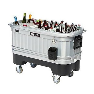 Igloo Party Bar LED Illuminated Portable Cooler - 125 Quart