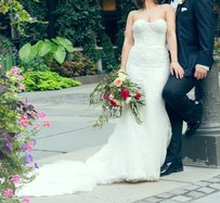 Inbal Dror Inbal Dror Inspired Custom Made Wedding Dress