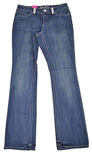 INC International Concepts 63 54 Denim Blue Regular Boot Cut Jeans