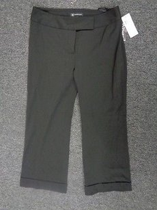 INC International Concepts Capri/Cropped Pants Black