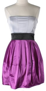 Inspire Me Satin Sleeveless Homecoming Dress