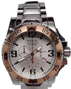 Invicta Invicta Mens 14041 Excursion Reserve Chronograph Stainless Steel Watch