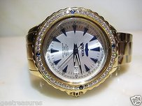 Invicta Invicta Ocean Ghost Sapphire Diamond Cubic Bezel 18kt Gold Watch