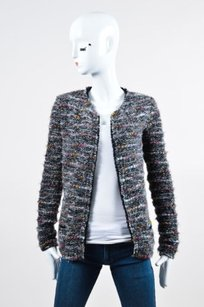 Isabel Marant Etoile Gray Multi-Color Jacket