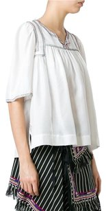Isabel Marant Embroidered Fr Hippie Top