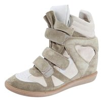 ISABEL MARANT Fashion Sneakers Beige Athletic