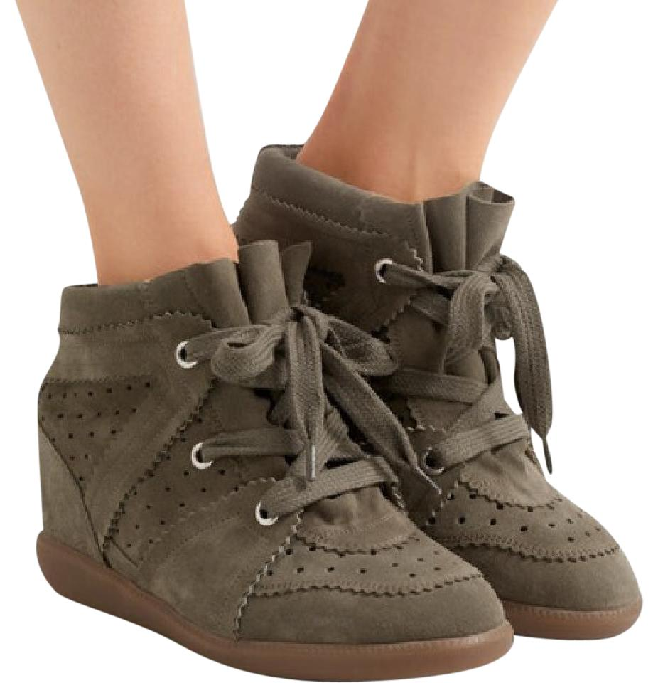 Isabel Marant Suede Booby Sneakers free shipping prices discount latest collections hot sale sale online nicekicks 4E6YC