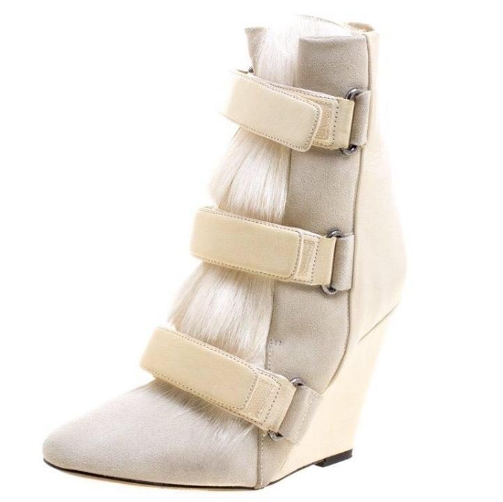 Isabel Marant White Scarlet Boots/Booties Size EU 39 (Approx. US 9) Regular (M, B)