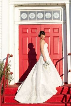 David Tutera 212250 - Laney Wedding Dress 41% Off| Tradesy Weddings