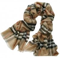 Burberry Burberry Extra Long Silk Wool Scarf
