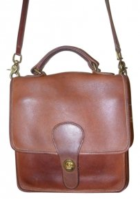 Coach Vintage Leather Shoulder Bag