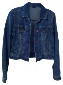 American Eagle Outfitters Denim Denim Medium Wash Womens Jean Jacket