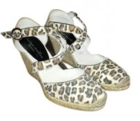 Bettye Muller leopard Wedges